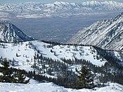 Salt Lake Valley Utah United States North America Earth