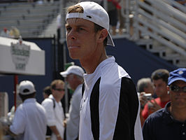 Querrey op de US Open in 2008