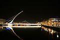 Samuel Beckett bridge at night - Flickr - D464-Darren Hall.jpg