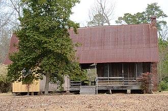 National Register of Historic Places listings in Grant County, Arkansas - Image: Samuel D. Byrd, Sr., Homestead