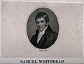 Samuel Whitbread. Stipple engraving by W. Holl, c. 1815, wit Wellcome V0019493.jpg