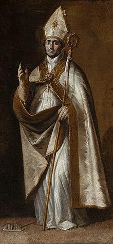 San Biagio dipinto da Antonio del Castillo y Saavedra.