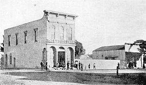 The San Diego Union-Tribune - San Diego Union building, c. 1870s