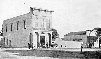 The San Diego Union-Tribune - San Diego Union building, c. 1870s