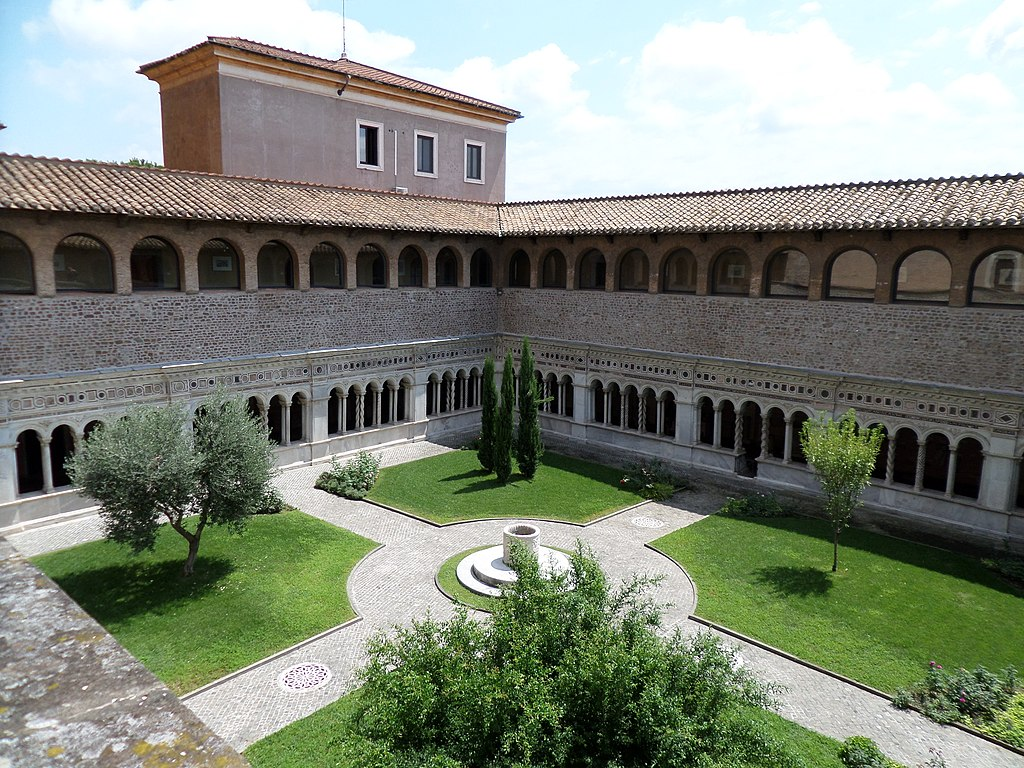 > Cloitre de la basiliqueSaint Jean Latran à Rome - Photo d'Abraham