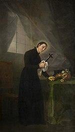 San Luigi Gonzaga, (Francisco Goya, 1781)