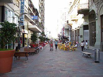 Pergamino - San Nicolás Street, Pergamino.