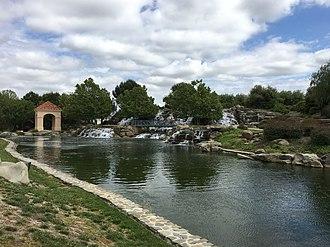 San Ramon, California - San Ramon Waterfall Park.