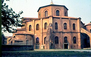 Byzantine Papacy - The Basilica of San Vitale in Ravenna combines Western and Byzantine elements.