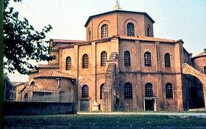 La iglesia de San Vital en Rávena.