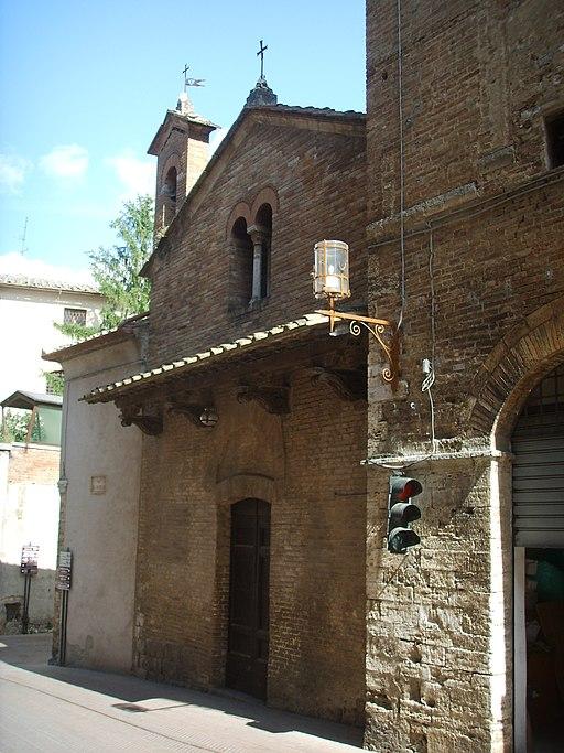 San gimignano , Chiesa di San Lorenzo al Ponte