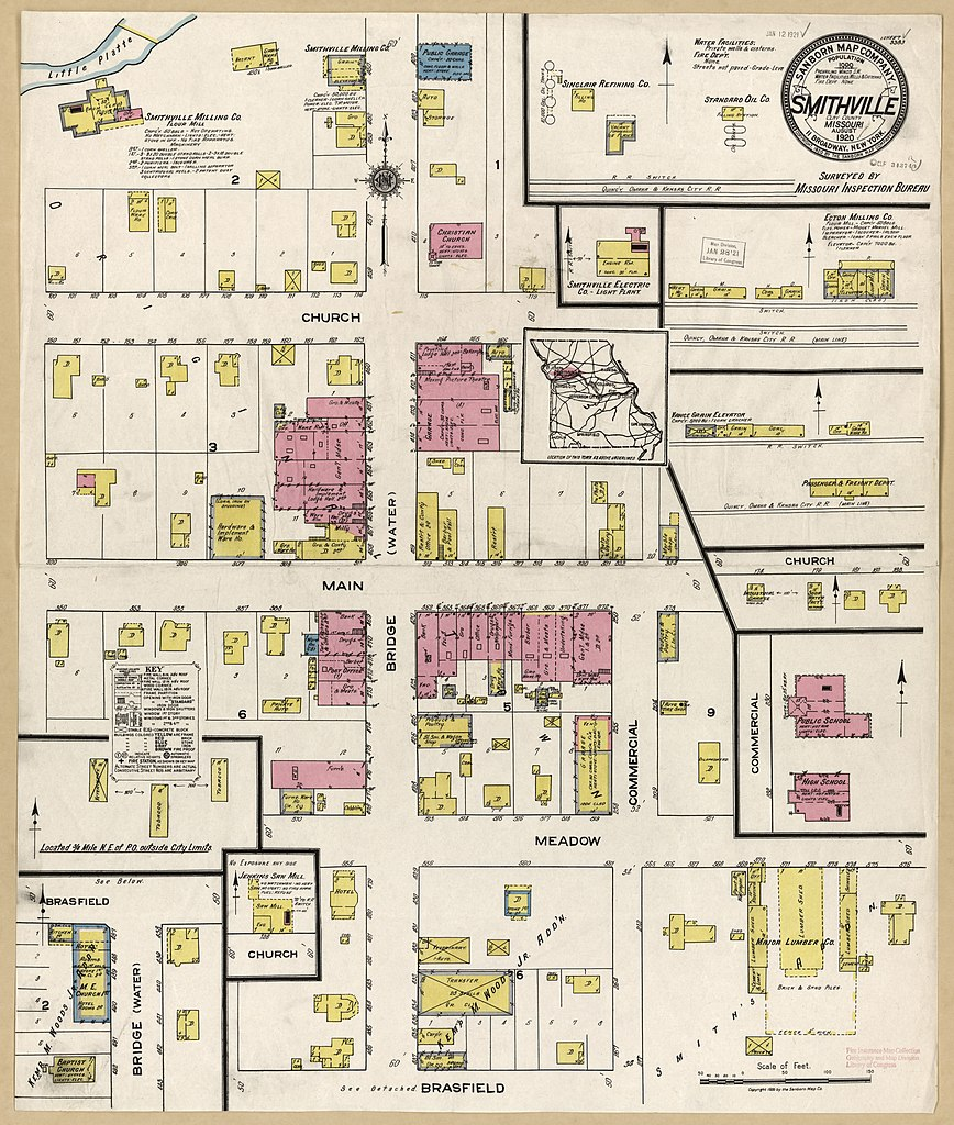 File Sanborn Fire Insurance Map From Smithville Clay County