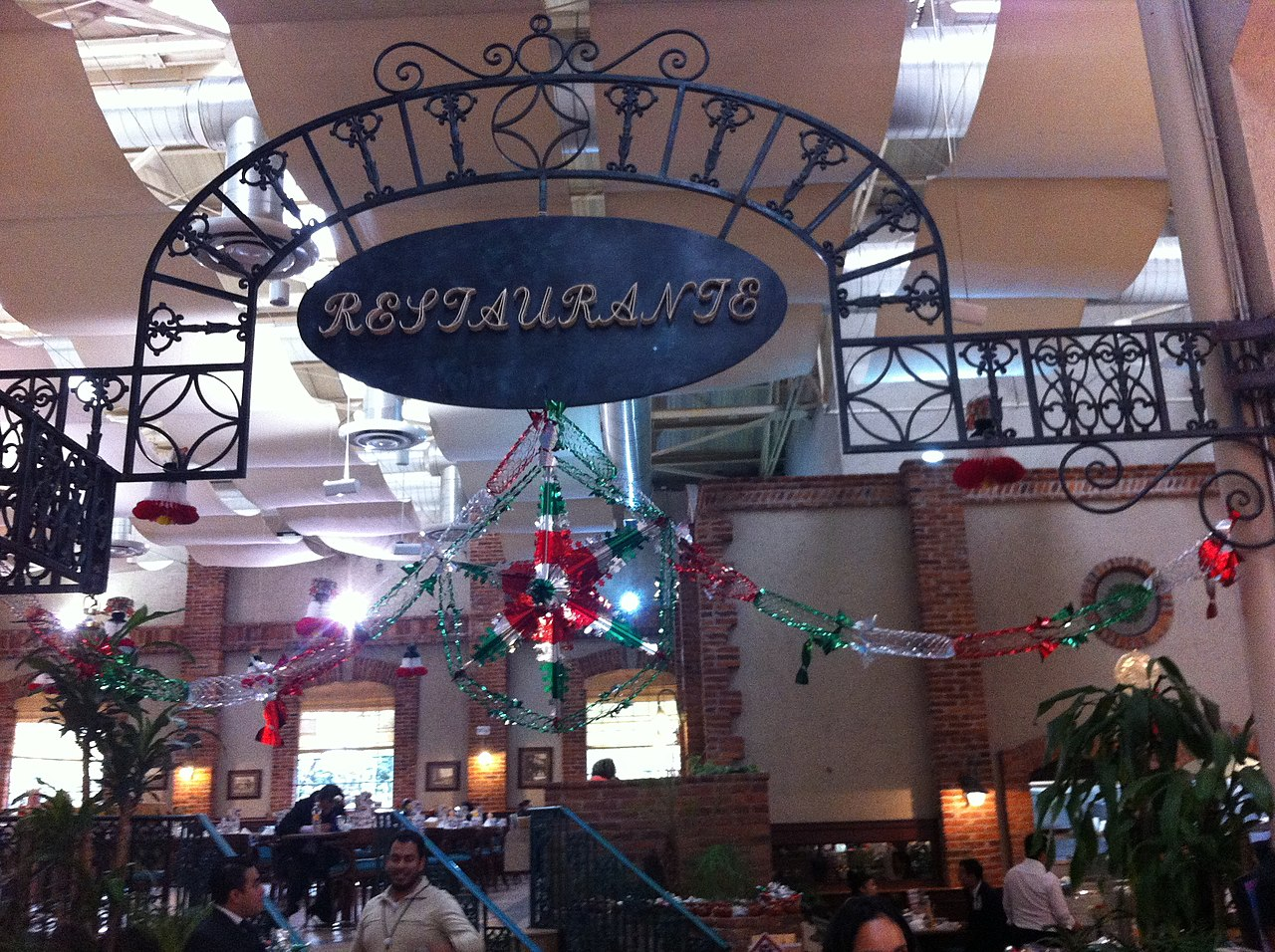 Sanborns Restaurant Mexico City Menu