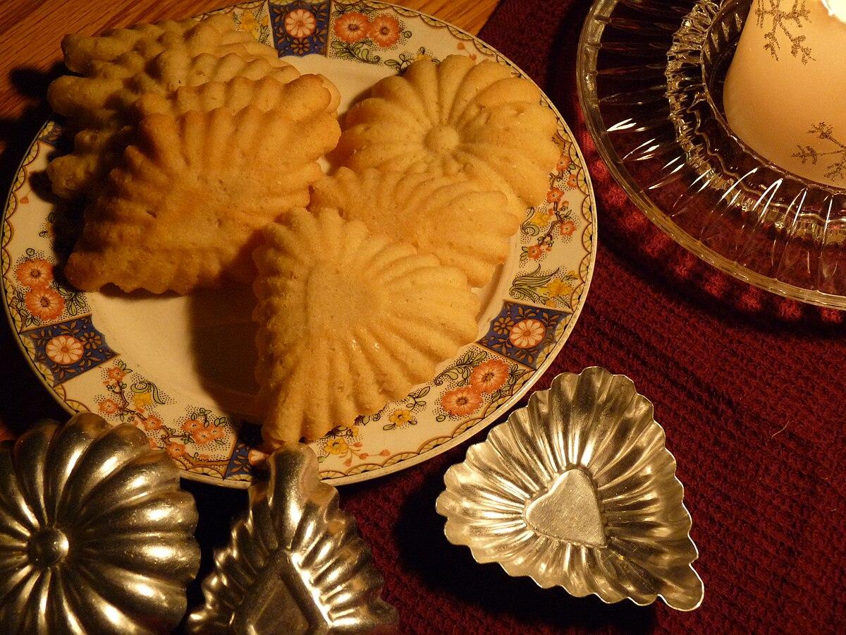 Vintage Cookbook >> Sandbakelse - Wikipedia