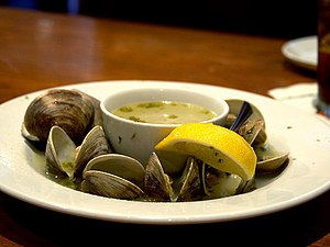 Hard clam - Steamed clams