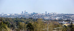 Sandton skyline from Megawatt Park
