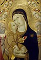 Sano di Pietro - Virgin and Child with Saints Jerome and Bernardino of Siena and Six Angels - Google Art Project.jpg