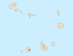Location of Santa Catarina do Fogo