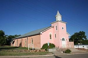 Wagon Mound, New Mexico - Image: Santa Clara Catholic Church