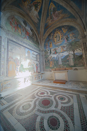 Bufalini Chapel - View of the chapel