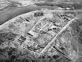 Benteng Khazars di Sarkel berlokasi di Don River