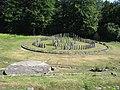 Sarmizegetusa Regia 2011 - Large Circular Sanctuary and Solar Disc-1.jpg