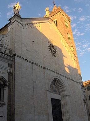 La chiesa di Santa Maria Assunta a Sarzana, concattedrale della diocesi