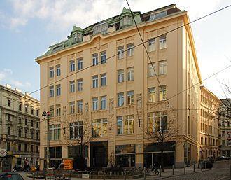 Sascha-Film - Former headquarters in Vienna.