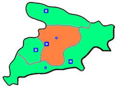 Savojbolagh County in Alborz Province