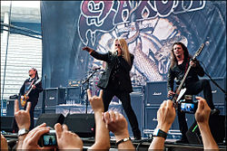 Saxon live in Madrid.jpg