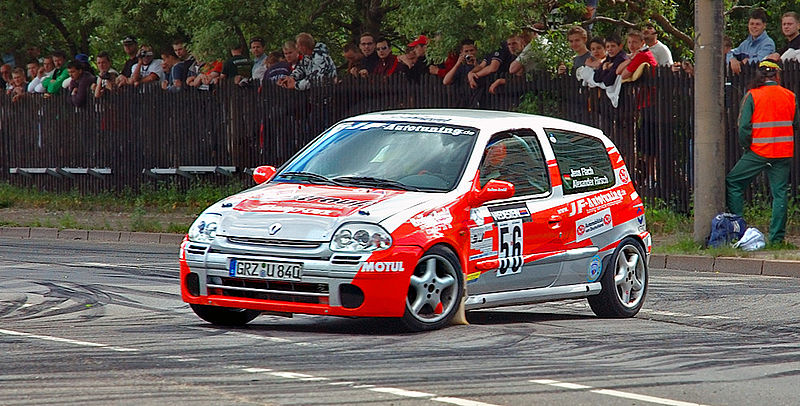 File:Saxony rally racing Renault Clio RS 56 (aka).jpg