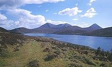 Scalpay, con a sud l'isola di Skye