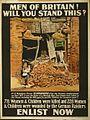 Scarborough raid poster 1915 LOC cph.3g11297.jpg