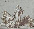 Scene with Four Figures of Monks Discoursing MET 1973.91.jpg
