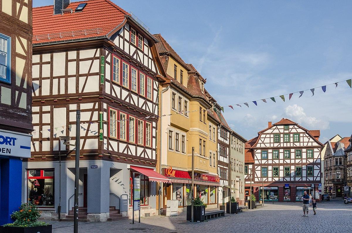 Schmalkalden, Steingasse 2, Salzbrücke 5, 6, 7, Stillergasse 1 -20150807-001.jpg