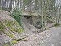 Schwelm, Hang des rechten Wupperufers oberhalb Beyenburger Str. 77, Bergfallmulde, Bild 1.jpg