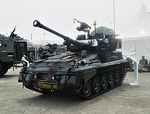 FV101 Scorpion - Indonesian  FV 101 Scorpion on IIMS 2014