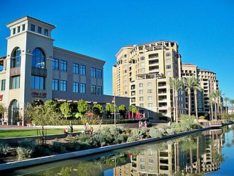 Scottsdale, Arizona - Downtown Scottsdale Waterfront