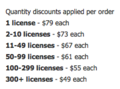 Screenshot of Timeless Project Tracking discounts.png