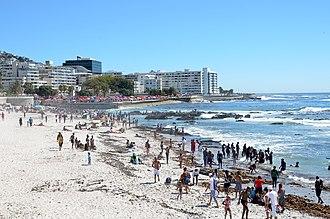 Beaches of Cape Town - Sea Point beach