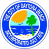 Official seal of Daytona Beach, Florida