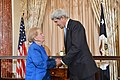 Secretary Kerry Thanks Former Secretary Albright for Introduction (27826295115).jpg