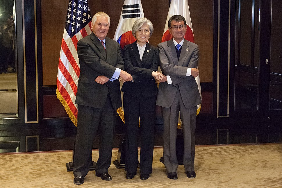 Secretary Tillerson Meets with the South Korean and Japanese Foreign Ministers (35615478893)