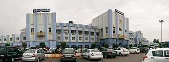 Secunderabad Junction railway station - North (main) entrance of the station
