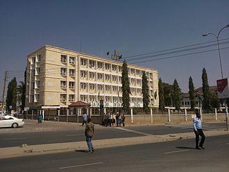 Chama Cha Mapinduzi - CCM Headquarters in the capital Dodoma.
