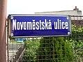 Sedlčany, Novoměstská ulice, tabule.jpg
