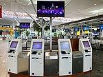 Self check in at Brisbane International Terminal in March 2019, 03.jpg