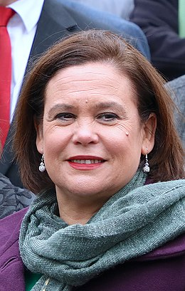 Senator Rose Conway-Walsh, Elisha McCallion MP & Mary Lou McDonald TD (45922964565) (cropped).jpg