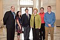 Senator Stabenow meets with students from L'Anse Cruise High School (33086888181).jpg