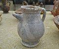 Setrill de ceràmica envernissada, segle XIV, Museu Soler Blasco de Xàbia.JPG